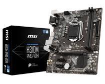 Placa Mãe MSI LGA1151 H310M Pro-VDH VGA/DVI/HDMI