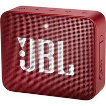 Caixa de Som de Som JBL GO2 com Bluetooth - Bateria de 730 Mah - Vermelho
