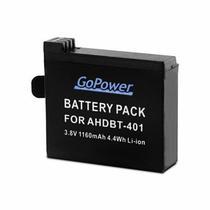 Bateria Gopower p/Gopro Hero 4 AHDBT-401