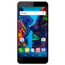"""Smartphone Quantum Muv Pro Q5 Dual Sim 16GB Tela 5.5"""" 16MP/8MP Os 6.0 - Dourado"""