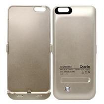 Capa Carregador Bateria Quanta QTCPB-1065 p/ iPhone 6 Plus 4200MAH Dourado
