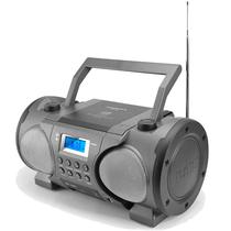 Radio Powerpack Boombox CDBT-868 Bluetooth / FM / MP3 / USB / Micro SD - Cinza