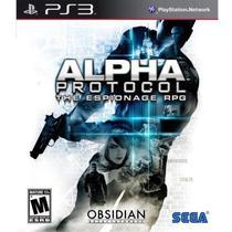 Jogo Alpha Protocol PS3