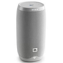 Caixa de Som JBL Link 10 com Bluetooth/Wi-Fi Bateria de 4.000 Mah - Branco