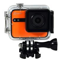"Camera de Acao Ezviz S1C Action Camera 8MP/Full HD Tela 2.0"" Touch com Wi Fi/Bluetooth - Laranja"