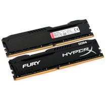 Memória Ram DDR4 Kingston Hyperx Fury HX424C15FB/4 4GB/2400MHZ Preto