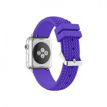 Pulseira 4LIFE Silicone para Apple Watch Tire Texture - 38MM - Roxo