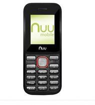 Celular Nuu F2 2G/Dual Preto/Vermelho