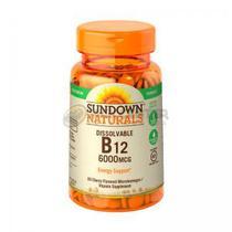 Vitamina B12 Dissolviveis 600MCG Sundown