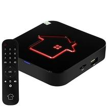 Receptor Fta HTV 6+ Ultra HD com Iptv/HDMI/Wi-Fi/Bivolt - Preto