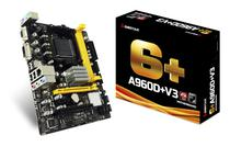 Placa Mãe Biostar AM3+ A960D+V3 VGA/DVI/DDR3