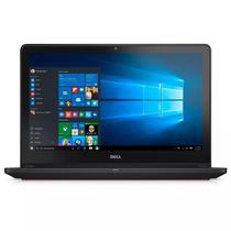 "Notebook Dell I7559-5012GRY i7-2.6/ 8GB/ 1TB/ 15"" Touch/ 4K/ GPU 4GB Ingles Cinza"