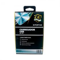 Carregador Gold Edition GE-C81 8 Portas 10A