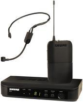 Microfone Shure Wireles - BLX14/P31-M15 - Sem Fio Preto
