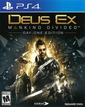 Deus Ex: Manking Divided Ed Day One PS4