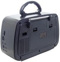 Radio Portatil Ecopower EP-F242B - 3 Bandas - Bluetooth - Preto e Marrom