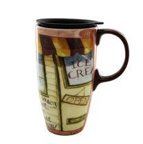 Caneca Termica de Ceramica Cypress Dis Dama