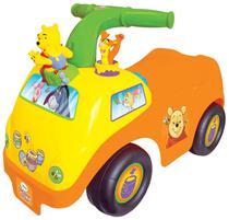 Carrinho Andador para Bebe - Kiddieland 50435 Ursinho Pooh