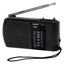 Radio Portatil Roadstar RS-60RD AM e FM 0.5 Watts - Preto