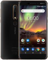 "Smartphone Nokia 6.1 TA-1045 Dual Sim Lte Tela 5.5"" FHD Preto"