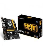 Placa Mãe 1151 Biostar TB250 Pro M.2/DVI/Rede 8PCI .