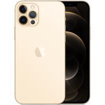 "Apple iPhone 12 Pro 256GB 6.1"" A2407 MGMR3LZ/A Gold - Anatel Garantia 1 Ano No Brasil"