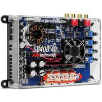 Amplificador Digital Soundigital SD-400.4D - 400 Watts - 4 Canais - 1 Ohm