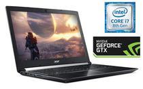 """Notebook Acer A717-72G-700J i7-8750H 2.2GHZ/ 16GB/ 256SSD/ 17.3""""/ VGA GF GTX1060 6GB/ Windows 10 Ingles Recondicionado"""