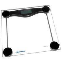 Balanca Digital para Peso Corporal Roadstar RS-401BK Ate 180KG - Transparente/Preto