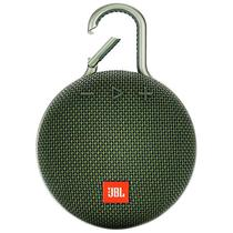 Caixa de Som JBL Clip 3com Bluetooth/Auxiliar Bateria 1.000 Mah - Verde