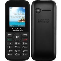 Celular Alcatel OT-1050 Dual 4MB Preto