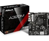 Placa Mãe Asrock AM4 A320M-HDV M.2/HDMI/DVI/VGA