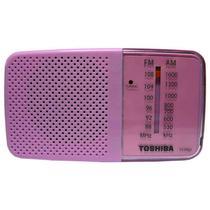 Radio Toshiba TX-PR20 FM/AM Rosa/Branco