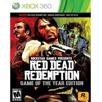 Jogo Red Dead Redemption Game Of The Year Xbox 360