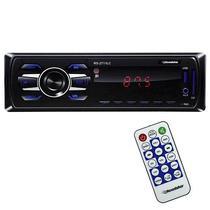 Toca Radio Automotivo Roadstar RS-2711LC com USB/Leitor de SD/Mini Jack 3.5MM - Preto