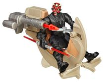 Boneco Hasbro Star Wars Sith Speeder & Darth Maul B3832