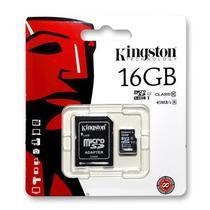 Cartão de Memória Kingston M.SD &Amp;2X1 16GB HC1 45MB
