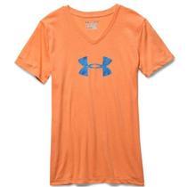 Camiseta Under Armour Charged Cotton 1259476-831/ M - Feminino