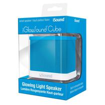 Caixa de Som Isound Iglowsound Cube Azul