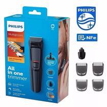 Aparador Barbeador Eletrico Philips 6 Em 1 MG3711