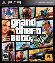 Jogo Grand Theft Auto V Gta PS3