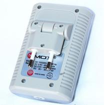 Carregador Mox MO-CB738 para Pilhas AA/AAA/9V - Cinza (Bivolt)