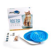 Pet Cat Sistema de Treinamento de Assento de Banheiro Train Your Cat