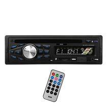 Toca Radio BAK BK-CD585SD 1200W com USB/SD/MMC/Controle - Preto