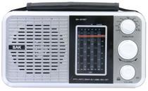 Caixa de Som BAK BK-811BT - Bluetooth - 110V - Prata