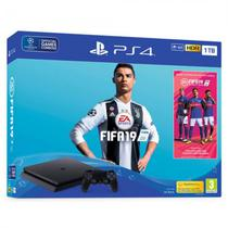 Console Sony Playstation 4 Pro 1TB CUH-7116B Bundle com Fifa 19