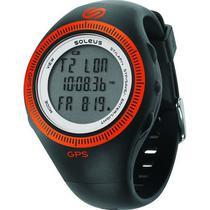 Relogio GPS Soleus SG002-030 BK/ Oran GPS2.0/ Vel/ Dist/ Cal/ Cro