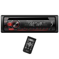 Reprodutor de CD Automotivo Pioneer DEH-S1150UB com USB/Auxiliar - Preto