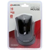 Mouse Mox MO-M809W - Wireless - Preto