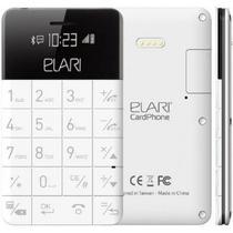 Celular Elari Cardphone 1 Sim Quadri Banda Bluetooth Branco